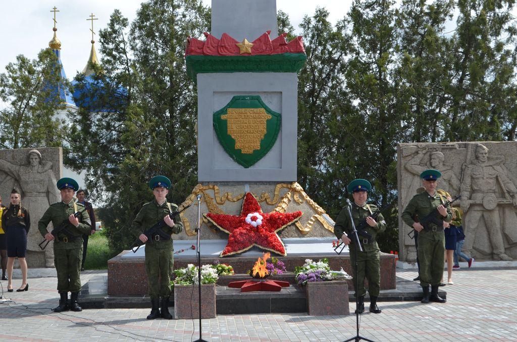 9 мая жители и гости посёлка Раздольное отметили великий праздник – День Победы над фашистской Германией
