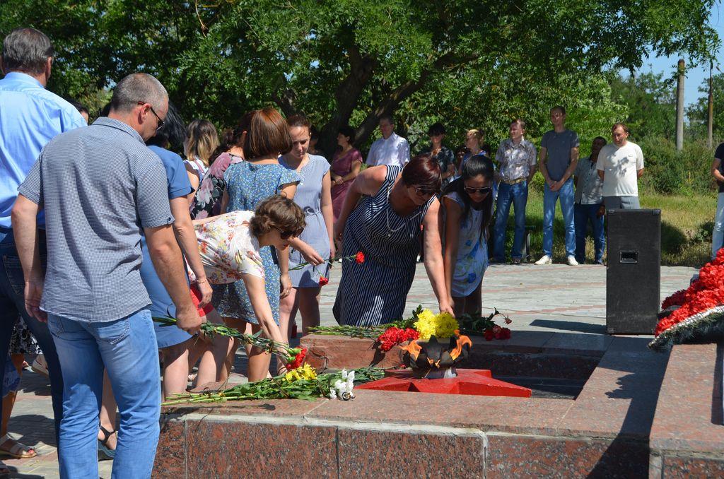 Жители Раздольненского района почтили память погибших в Великую отечественную войну