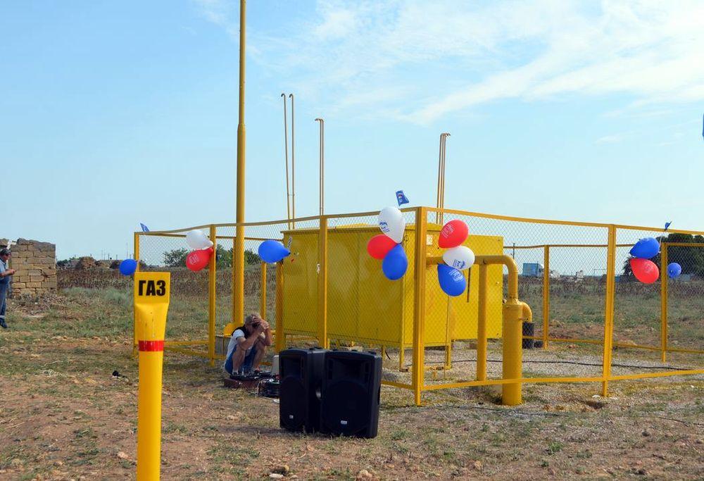 Состоялся торжественный пуск газа в селе Чехово